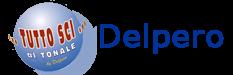 Logo Delpero ski rental